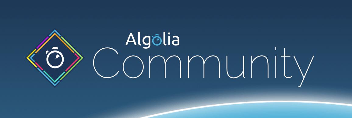 Algolia Community Logo