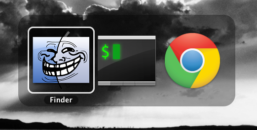 Remove Finder from the Application Switcher in Mac OSX